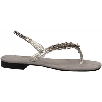 Schoenen Dames Sandalen / Open schoenen Positano LAMINATO argento