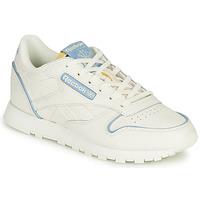 Schoenen Lage sneakers Reebok Classic CL LTHR Wit