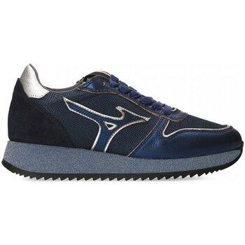 Schoenen Dames Lage sneakers Mizuno D1GE181527 ETAMIN 2 Blauw