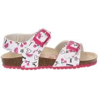 Schoenen Meisjes Sandalen / Open schoenen Garvalin BIO CHERRIES SANDAL BLANCO