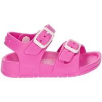 Schoenen Meisjes Sandalen / Open schoenen Garvalin WATERBESTENDIG SANDAAL SANDY FUCHSIA