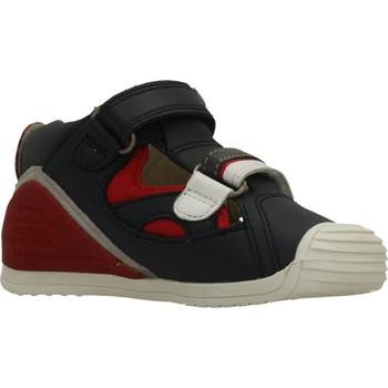Schoenen Jongens Sandalen / Open schoenen Biomecanics SANDALIA SAUVAGE Blauw