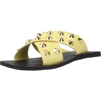 Schoenen Dames Leren slippers Inuovo 478003I Geel