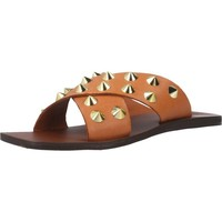 Schoenen Dames Leren slippers Inuovo 478003I Bruin