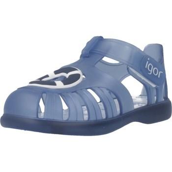 Schoenen Jongens Sandalen / Open schoenen Igor S10249 Blauw