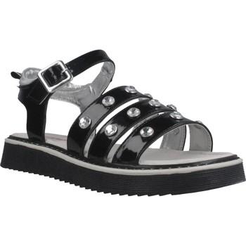Schoenen Meisjes Sandalen / Open schoenen Asso AG6703 Zwart