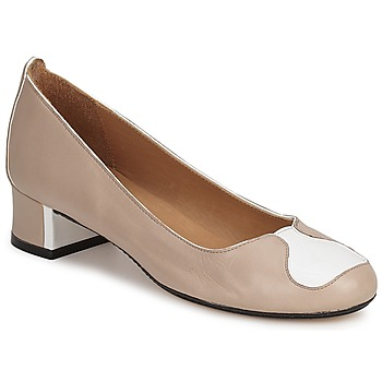 Schoenen Dames pumps Robert Clergerie SALSA Beige - wit