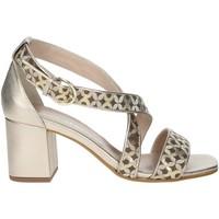 Schoenen Dames Sandalen / Open schoenen Paola Ferri D8128 Bronze
