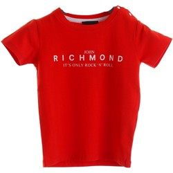 Textiel Jongens T-shirts korte mouwen Richmond Kids RIP20033TS Red