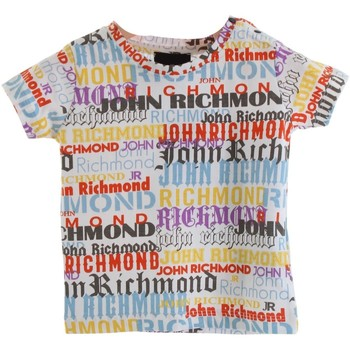 Textiel Jongens T-shirts korte mouwen Richmond Kids RIP20013TS multicolored
