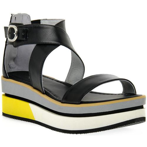 Schoenen Dames Sandalen / Open schoenen NeroGiardini NERO GIARDINI  100 LEON NERO Nero
