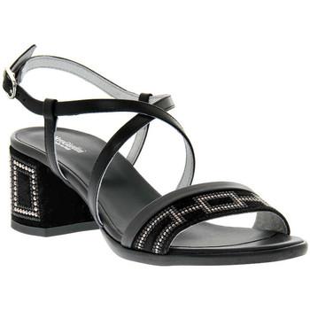 Schoenen Dames Sandalen / Open schoenen NeroGiardini NERO GIARDINI  100 VELOUR NERO Nero