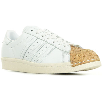 Schoenen Dames Lage sneakers adidas Originals Superstar 80s Cork Wit