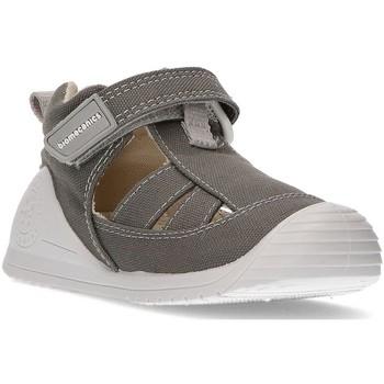 Schoenen Kinderen Sandalen / Open schoenen Biomecanics Sandalen  CANVAS BABY AZAI GRIJS