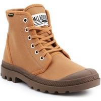 Schoenen Heren Hoge sneakers Palladium Manufacture Pampa HI Originale 75349-230-M brown