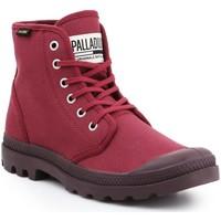 Schoenen Heren Hoge sneakers Palladium Manufacture Pampa HI Oryginale 75349-604-M burgundy