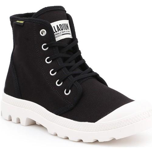 Schoenen Heren Hoge sneakers Palladium Pampa HI Originale 75349-016-M black