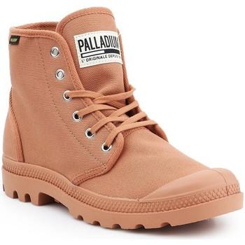 Schoenen Heren Hoge sneakers Palladium Manufacture Pampa HI Originale 75349-225-M brown