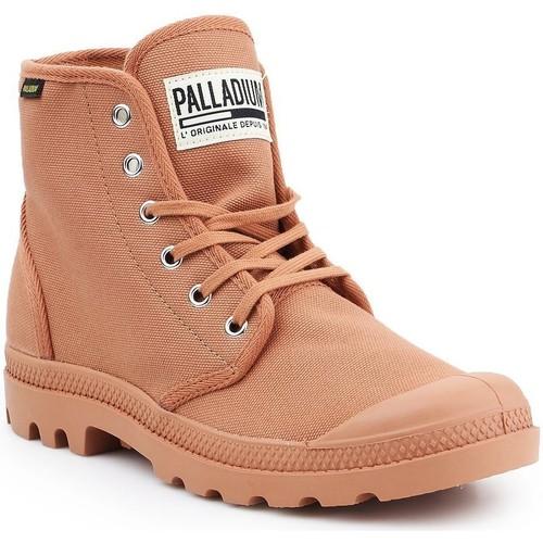 Schoenen Heren Hoge sneakers Palladium Pampa HI Originale 75349-225-M brown