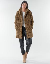 Textiel Dames Mantel jassen Noisy May NMGABI Bruin