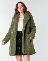 Textiel Dames Mantel jassen Noisy May NMGABI Kaki