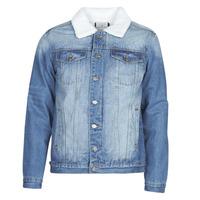 Textiel Heren Spijker jassen Casual Attitude  Blauw / Medium