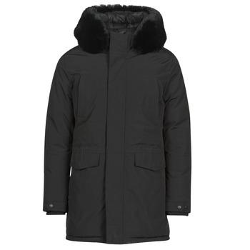 Textiel Heren Parka jassen Casual Attitude NAFFO Zwart