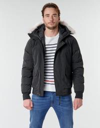 Textiel Heren Dons gevoerde jassen Casual Attitude NIFFO Zwart