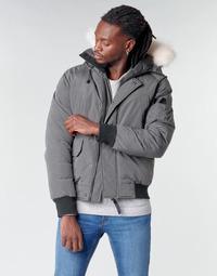 Textiel Heren Dons gevoerde jassen Casual Attitude NIFFO Grijs