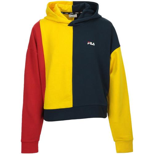 Textiel Meisjes Sweaters / Sweatshirts Fila Taylor Blocked Hoody Kids Blauw