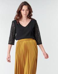 Textiel Dames Tops / Blousjes Betty London NIXE Zwart