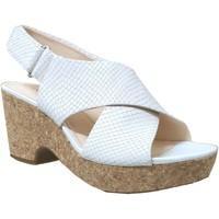 Schoenen Dames Sandalen / Open schoenen Clarks Maritsa lara Ecru leer