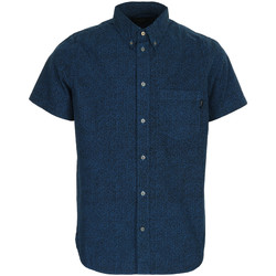 Textiel Heren Overhemden korte mouwen Paul Smith SS classic fit shirt Blauw
