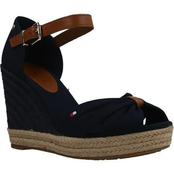 Schoenen Dames Sandalen / Open schoenen Tommy Hilfiger BASIC Blauw