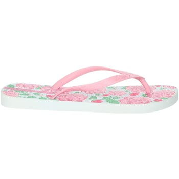 Schoenen Dames Teenslippers Ipanema 82655 Rose/White
