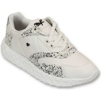 Schoenen Heren Lage sneakers Cash Money Touch White Wit