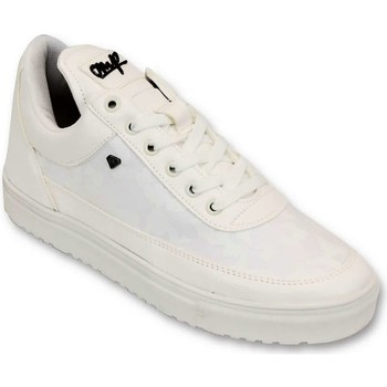 Schoenen Heren Lage sneakers Cash Money Case Army Full White CMS Wit