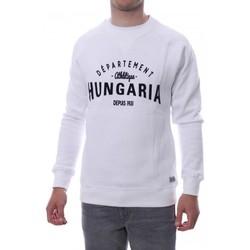 Textiel Heren Sweaters / Sweatshirts Hungaria  Wit