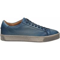Schoenen Heren Lage sneakers Santoni DERBY 7 OCC. FORGOOSE azzurro