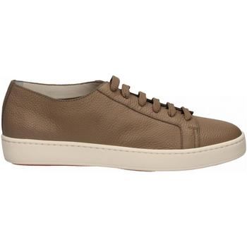 Schoenen Heren Lage sneakers Santoni CLEANIC-MIA sabbia