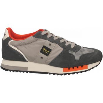 Schoenen Heren Lage sneakers Blauer QUEENS01 grey