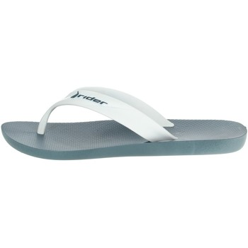Schoenen Heren Teenslippers Rider 81666 White/Blue