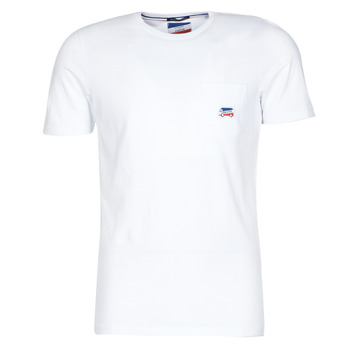 Textiel Heren T-shirts korte mouwen Jack & Jones JJMASCARIN Wit