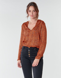 Textiel Dames Tops / Blousjes Moony Mood NOUM Roest