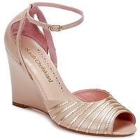 Schoenen Dames Sandalen / Open schoenen Sarah Chofakian LA PARADE Roze / Goud