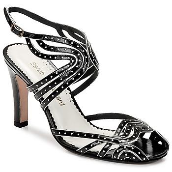 Schoenen Dames Sandalen / Open schoenen Sarah Chofakian WINGS Zwart / Goud