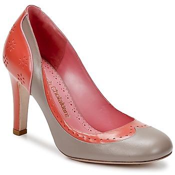 Schoenen Dames pumps Sarah Chofakian LAUTREC Zalm