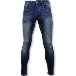Textiel Heren Skinny Jeans True Rise Classic Spijkerbroek D Blauw