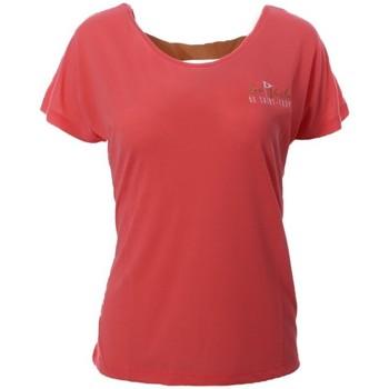 Textiel Dames T-shirts korte mouwen Les voiles de St Tropez  Roze