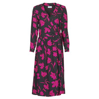 Textiel Dames Lange jurken Betty London NOLIE Zwart / Roze